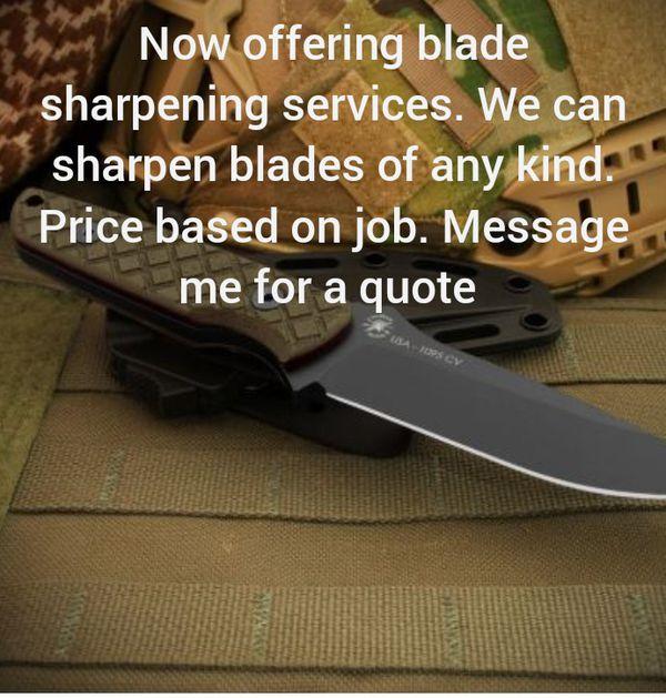 Item sharpening services