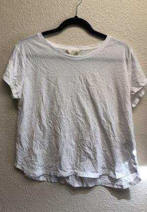 H&M Plain White T-shirt for Sale in Hesperia, CA