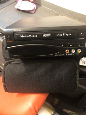 Portable DVD player comes with case and built in monitor for Sale in Lake Elsinore, CA