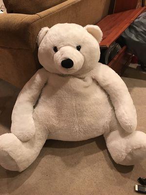 Stuffed White Polar Bear - 2 1/2 feet tall for Sale in Fairfax Station, VA