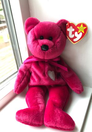Beanie babies original valentines bear 1998 for Sale for sale  Snohomish, WA