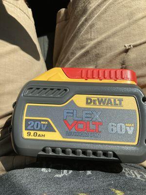 DeWalt FlexVolt 9.0ah Battery for Sale in Staunton, VA