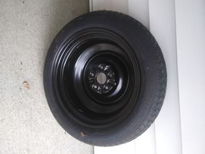 SPARE TIRE - NEW 2012-2016 EMERGENCY SPARE TIRE - GOODYEAR T155 70 D17 DONUT WHEEL 5 LUG for Sale in Peoria, IL