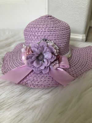 Girl Party Wedding Dress Hat for Sale in San Diego, CA