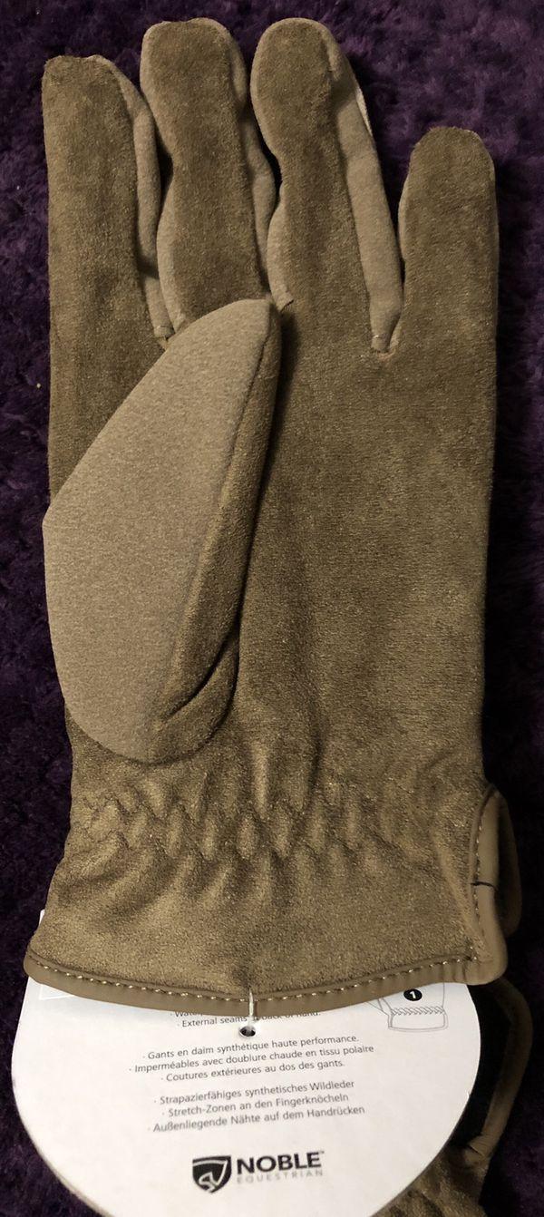 Noble Equestrian Women's Georgia Waterproof & Fleece Lined Gloves