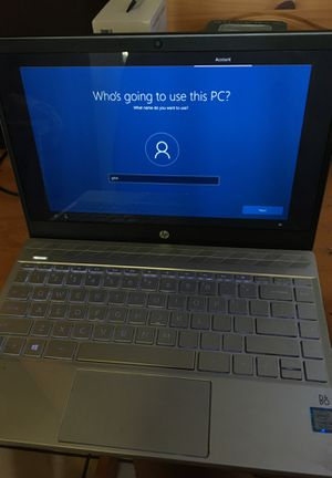 Hp pavilion notebook laptop for Sale in Watervliet, NY