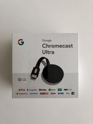 Sealed- Brand New Chromecast Ultra for Sale in Edison, NJ