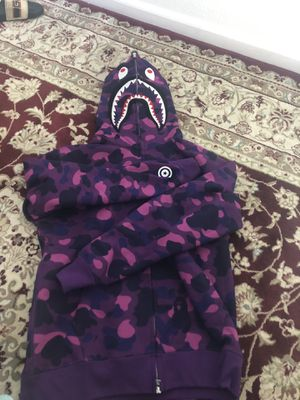 Bape Shark Hoodie Full Zip Up 2016 Release for Sale in Davis, CA
