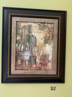 Kitchen wine decor for Sale in Columbus, OH