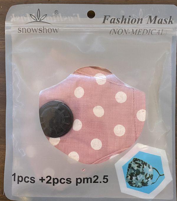 Cute fashionable face masks