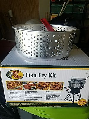 Bass Pro Shop Fish Fry Kit for Sale in Dallas, GA