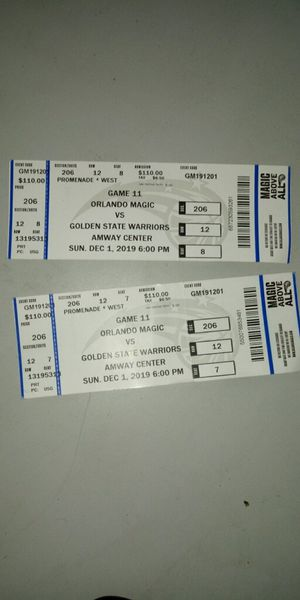 Tickets for Sale in Ocala, FL