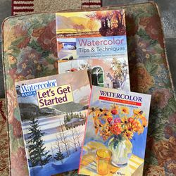 Books How To Learn Watercolors for Sale in Ocala,  FL