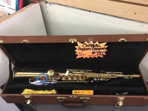 MintCondition CHATEAU Soprano Saxophone! for Sale in Lemon Grove, CA