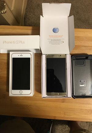 at&t; Apple iPhone 6s Plus; at&t; Samsung Galaxy Note 5 for Sale in West Mifflin, PA