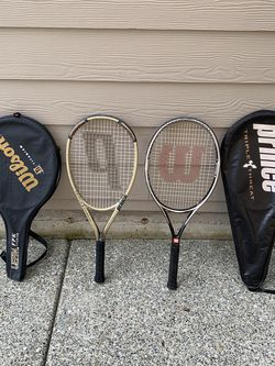 2 Tennis Rackets for Sale in Lynnwood,  WA