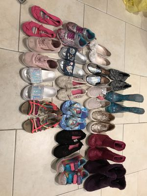 Girls shoes 11/12 for Sale in Holbrook, NY