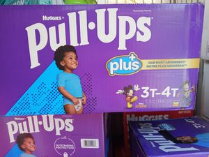 Huggies pull up size 3-4t/116 counts for Sale in Gardena, CA