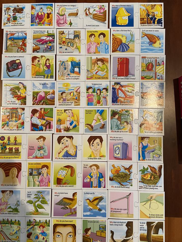 Puzzle - Speech therapy - Game