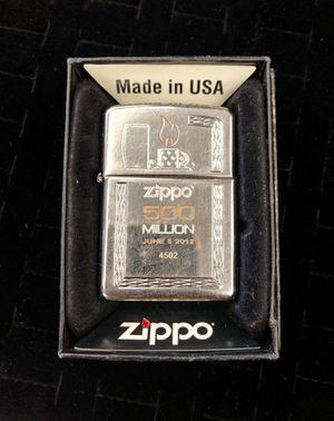 2012 Zippo 500 Million Lighter for Sale in Morrow, GA