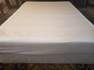 Full size Memory Foam Mattress box spring bed frame for Sale in Lynnwood, WA