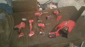 Lot of Milwaukee tools for Sale in Lacey, WA