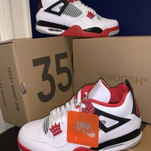 Jordan 4 Retro Fire Red for Sale in Chevy Chase, MD