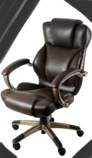 New!! Executive chair, upholstered high back bonded leather task chair, rolling chair, desk chair, office chair, executive chair, office furniture , for Sale in Phoenix, AZ