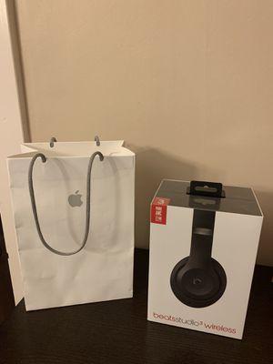Beats Studio 3 Wireless Headphones Matte Black for Sale in Denver, CO