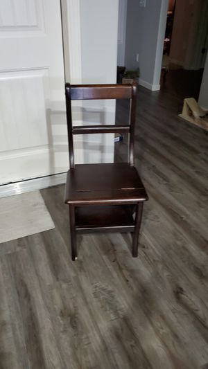 Converting chair steep stool for Sale in Delta, CO