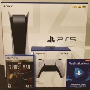 Playstation 5 Disc Version With Spider-Man for Sale in Olathe, KS