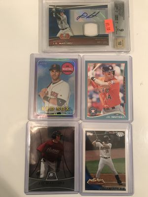 Baseball Card, JD Martinez auto relic lot for Sale in Bingham Canyon, UT