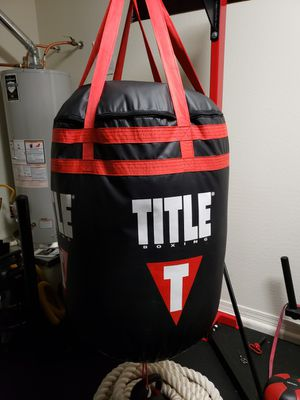 TITLE Extra-Wide punching bag for Sale in Apache Junction, AZ