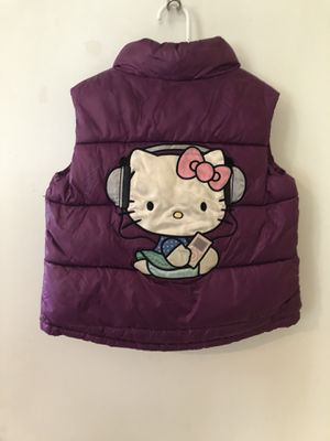 Hello Kitty Vest size 4-6y for Sale in Monongahela, PA