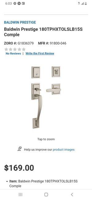Smart key security door handle for Sale in Austin, TX