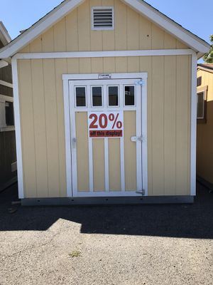 Custom Built Shed with Dormer for Sale in Escondido, CA