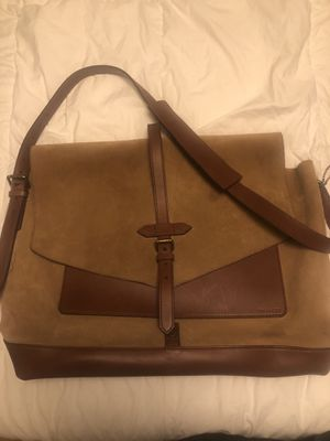 Coach suede messenger bag for Sale in Los Angeles, CA