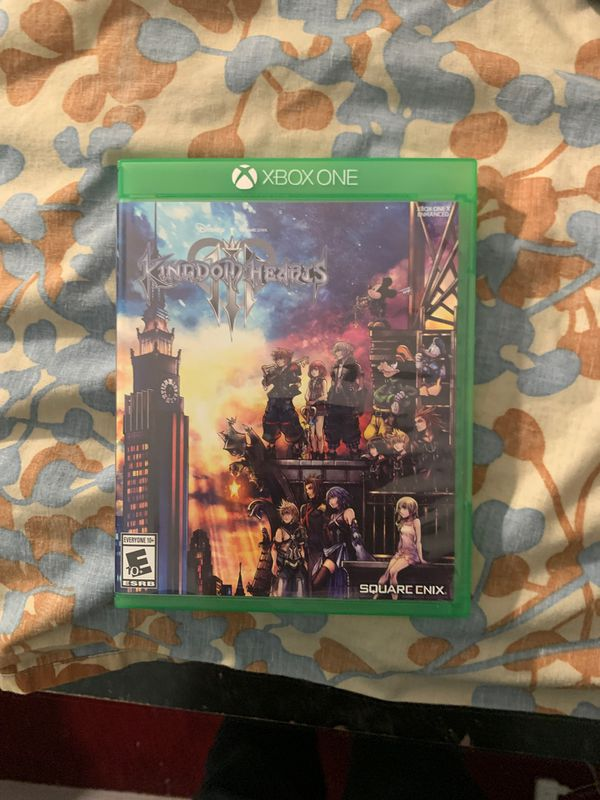 Kingdom hearts 3 for Xbox one