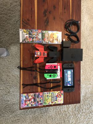 Nintendo Switch Bundle (hold) for Sale in Benbrook, TX