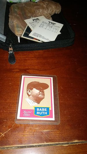 Babe ruth cmc 1989 for Sale in Toledo, OH