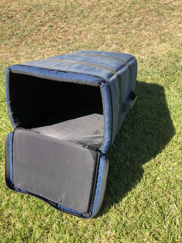 Hard Shell Case with Padding Inside 15x12x24