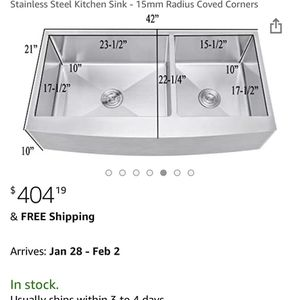 New Farm Sink for Sale in Issaquah, WA