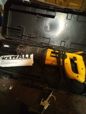 DeWalt corded reciprocating saw for Sale in Poland, IN