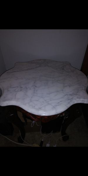 Antique vintage Italian marble hand carved coffee table set for Sale in Edgemere, MD