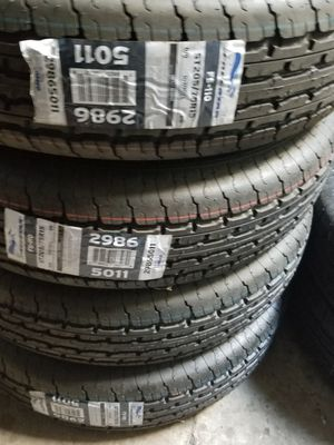 175/80/13 ST TRAILER TIRES PRICE $50 EACH TIRE NEW for Sale in Perris, CA
