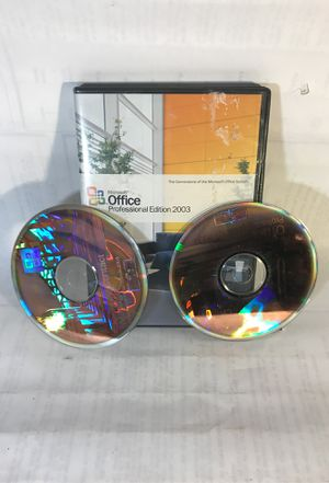 Microsoft Office Professional Edition 2003 for Sale in Seattle, WA