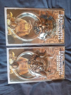 Labyrinth Right & Left Knocker - Ultra rare vintage Hot Topic for Sale for sale  New York, NY