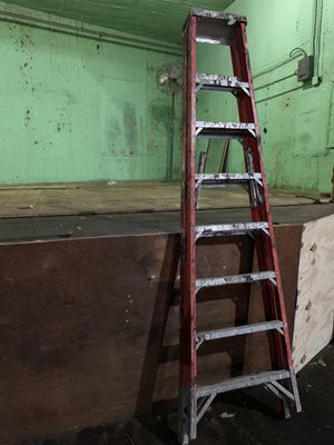 Werner 8ft Fiberglass Ladder used for Sale in New York, NY