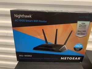 Nighthawk AC1900 smart WiFi Router for Sale in Miami, FL