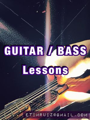 Guitar 🎸 Bass Lessons for Sale in Houston, TX